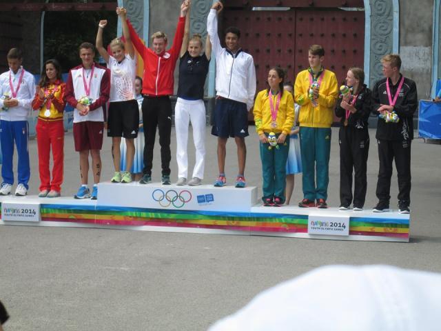 podium 2 equipe