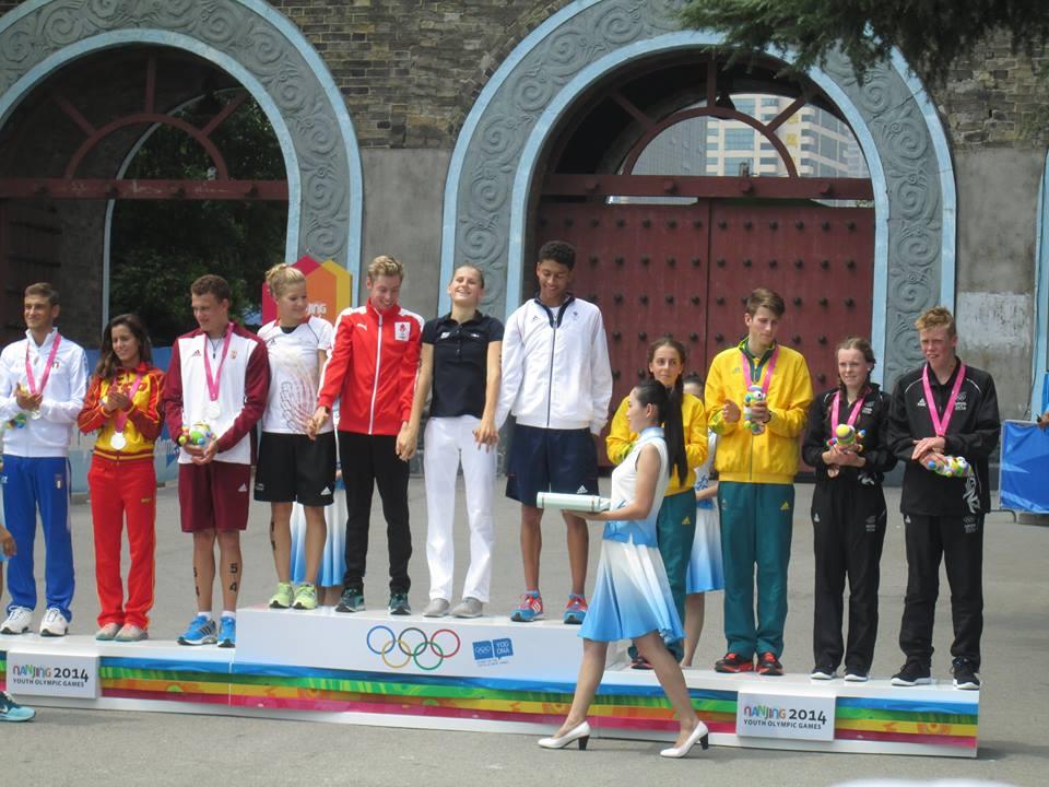 podium equipe